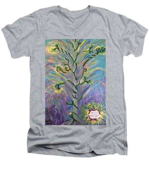 Be The Light Men's V-Neck T-Shirt