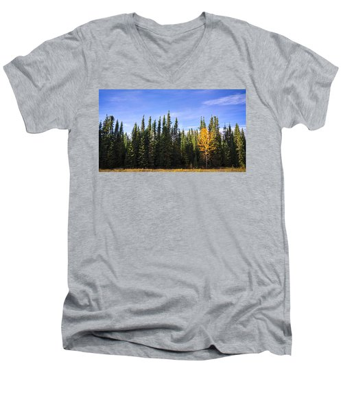 Be Yourself Men's V-Neck T-Shirt