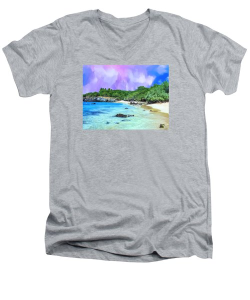 Beach 69 Big Island Men's V-Neck T-Shirt