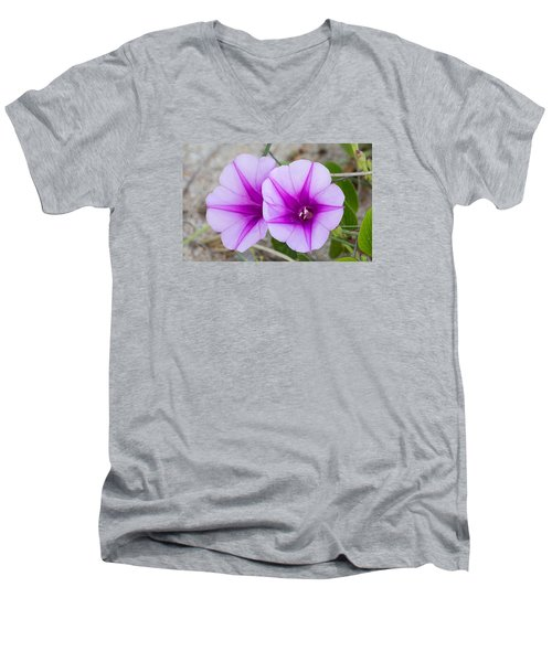 Beach Beauties Men's V-Neck T-Shirt by Kenneth Albin