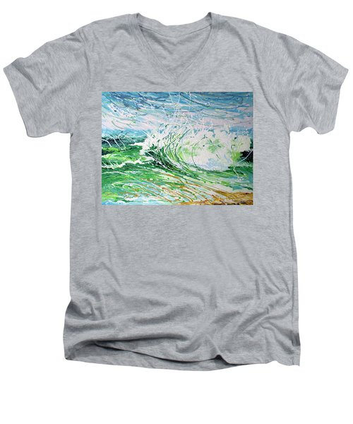 Beach Blast Men's V-Neck T-Shirt