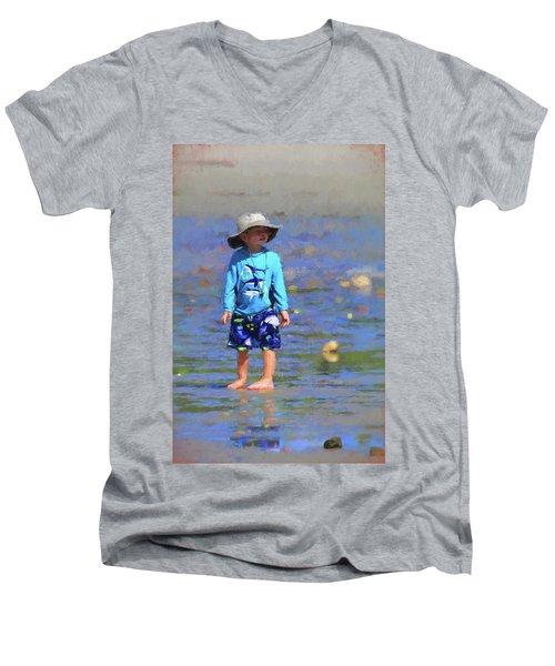 Beach Boy Men's V-Neck T-Shirt