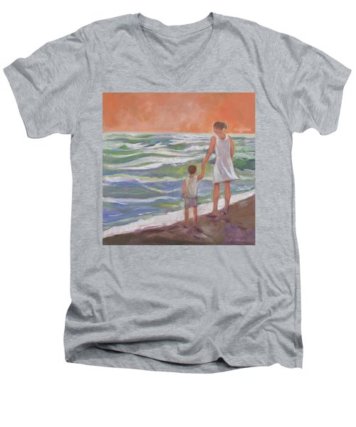 Beach Boy Men's V-Neck T-Shirt