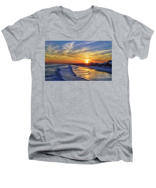 Beach Bum Men's V-Neck T-Shirt