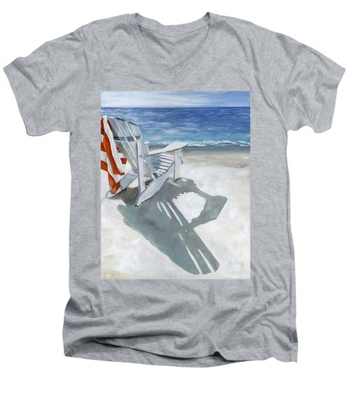 Beach Chair Men's V-Neck T-Shirt