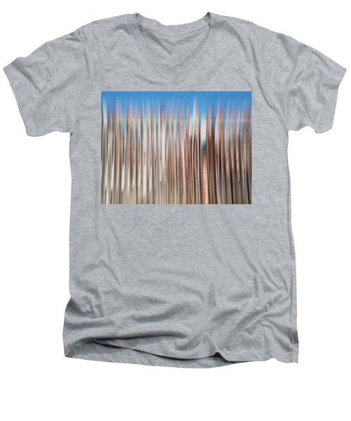 Beach Fence Men's V-Neck T-Shirt