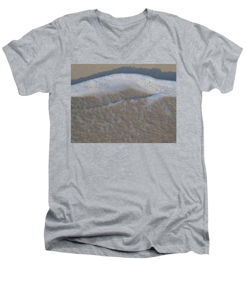 Beach Foam Men's V-Neck T-Shirt