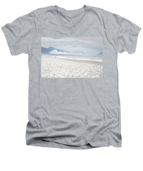 Beach For Two Men's V-Neck T-Shirt