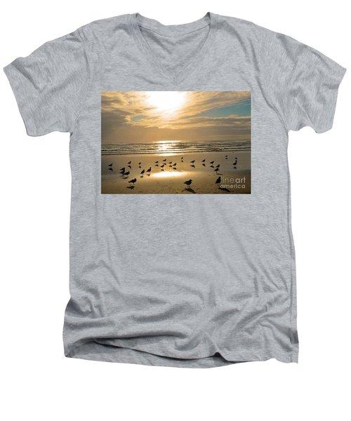Beach Party Men's V-Neck T-Shirt