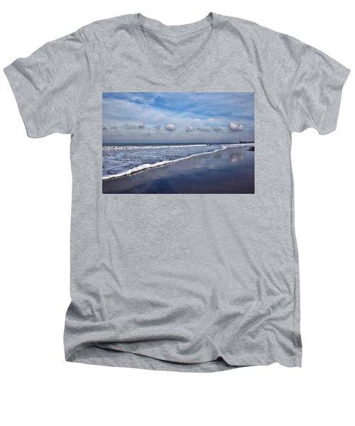 Beach Reflections Men's V-Neck T-Shirt