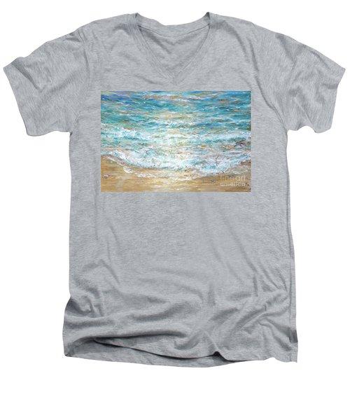 Beach Tide Men's V-Neck T-Shirt