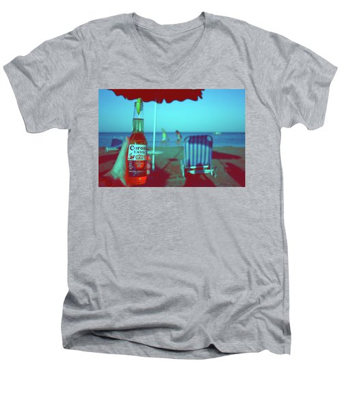 Beach Time Men's V-Neck T-Shirt