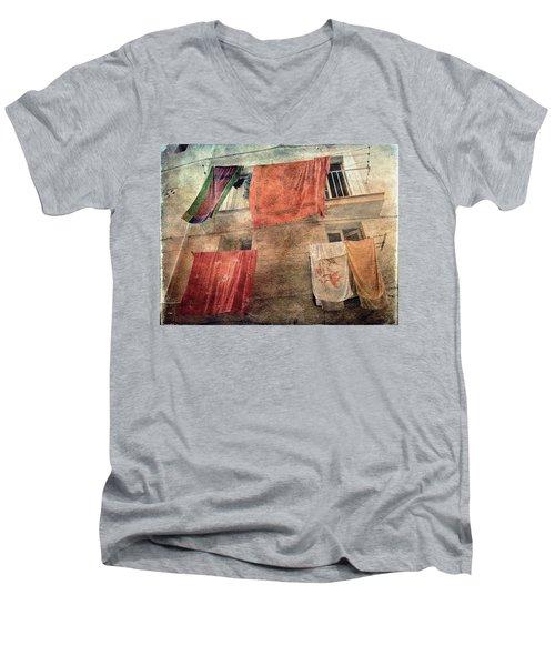 Beach Towels Men's V-Neck T-Shirt