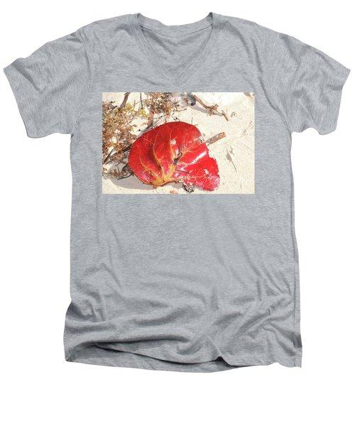 Beach Treasures 1 Men's V-Neck T-Shirt