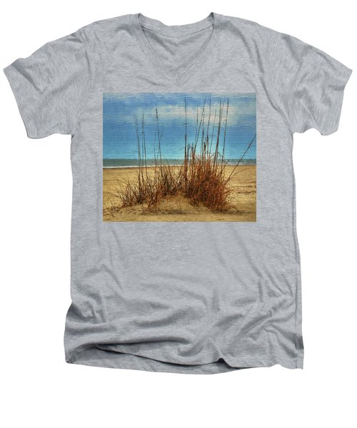 Beach View Men's V-Neck T-Shirt