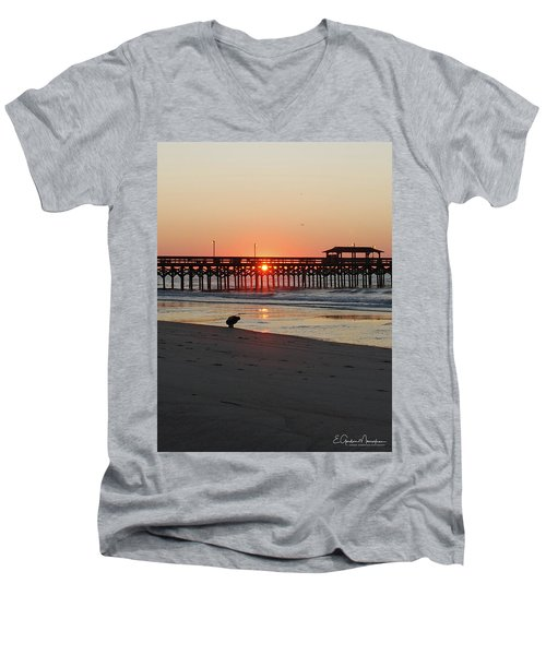 Beachcomber Men's V-Neck T-Shirt