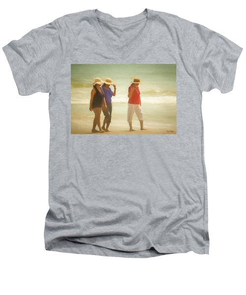 Beachcombers Men's V-Neck T-Shirt