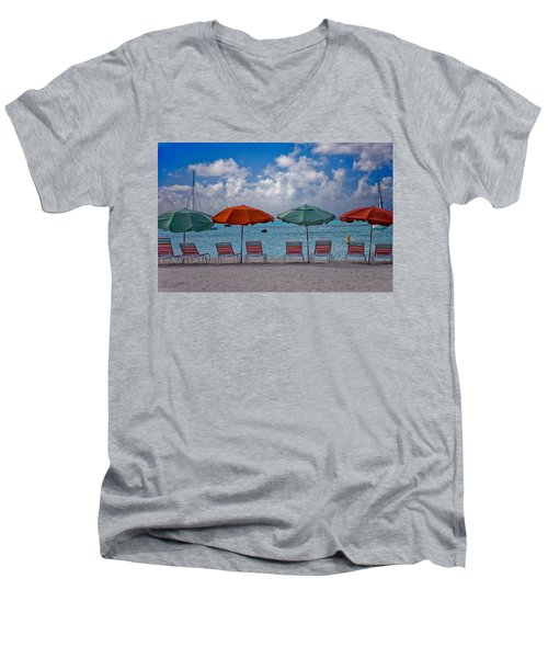 Beachie Keen Men's V-Neck T-Shirt