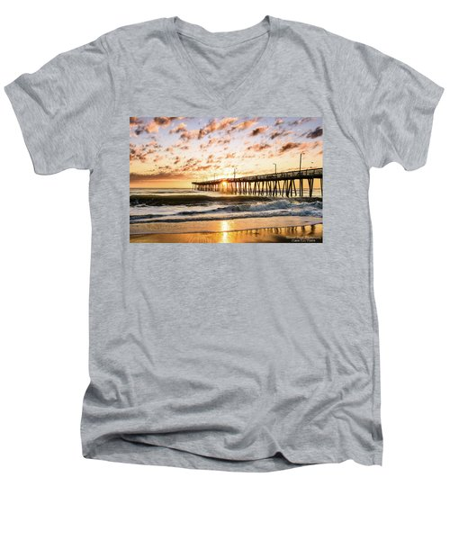 Beaching It Men's V-Neck T-Shirt