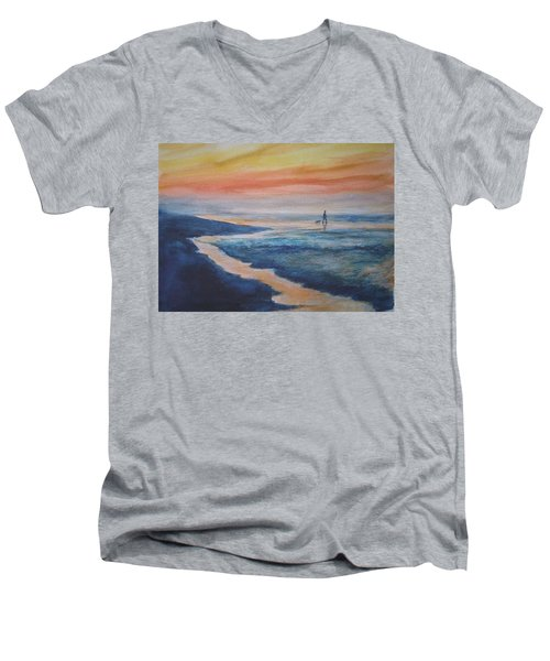 Beachwalker Men's V-Neck T-Shirt