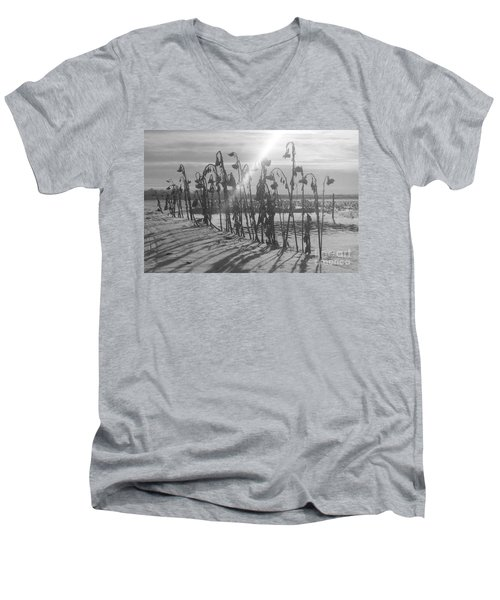 Beam Of Light Men's V-Neck T-Shirt