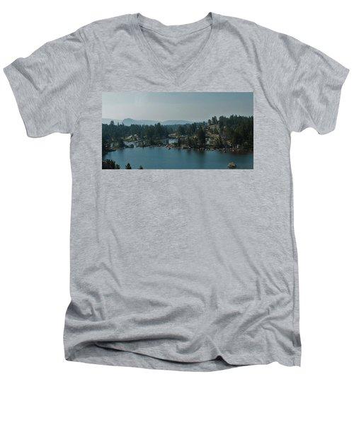 Beartooth Pond At 10,000 Feet Men's V-Neck T-Shirt