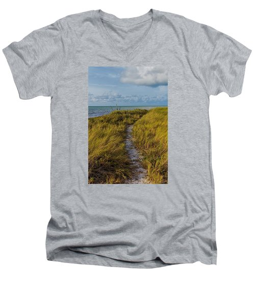 Beaten Path Men's V-Neck T-Shirt