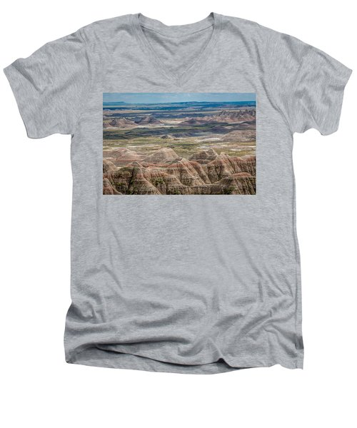 Beautiful Badlands Men's V-Neck T-Shirt