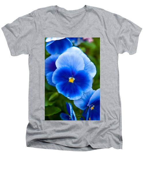 Beautiful Blues Men's V-Neck T-Shirt