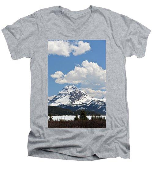 Beautiful Bow Lake Men's V-Neck T-Shirt