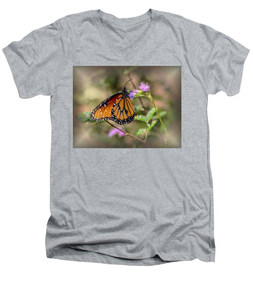 Beautiful Butterfly Men's V-Neck T-Shirt