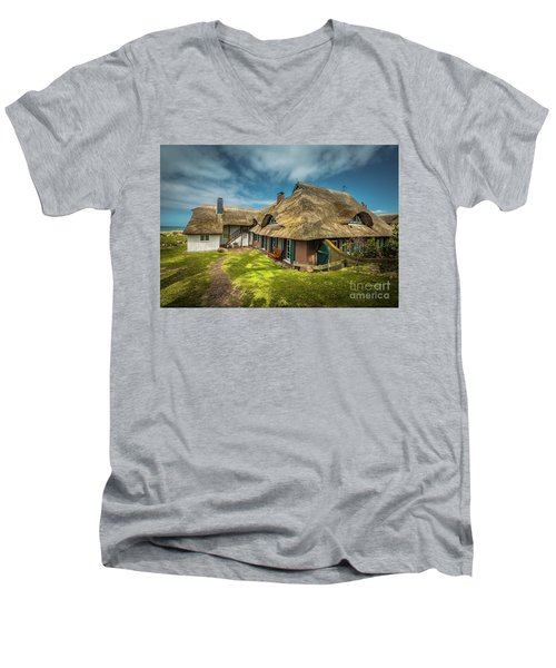 Beautiful Cottage Men's V-Neck T-Shirt