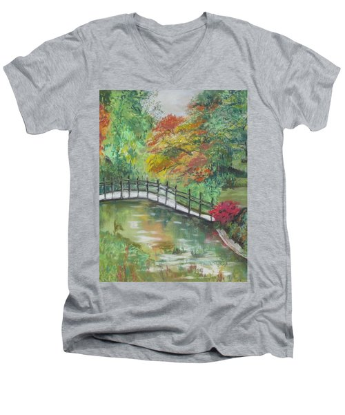 Beautiful Garden Men's V-Neck T-Shirt