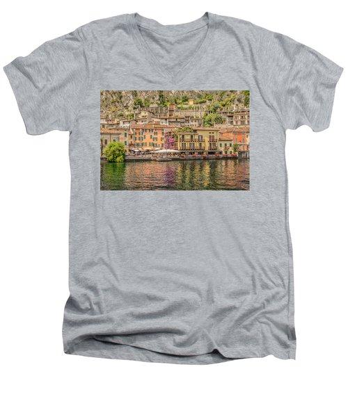 Beautiful Italy Men's V-Neck T-Shirt by Roy McPeak