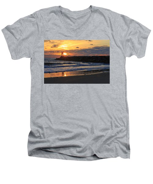 Beautiful Morning Men's V-Neck T-Shirt