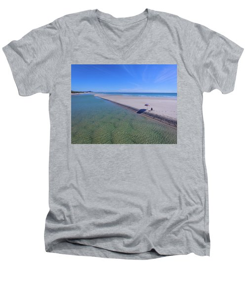 Beautiful One Day And Perfect The Next Men's V-Neck T-Shirt