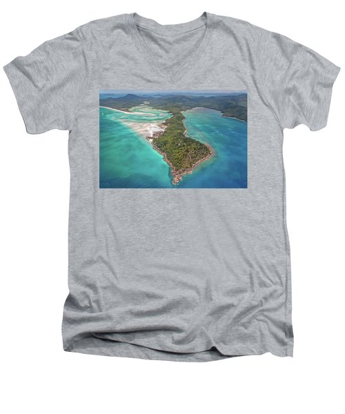 Beautiful Whitsundays Men's V-Neck T-Shirt by Az Jackson