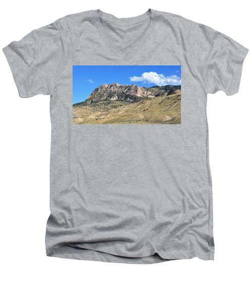 Beautiful Wyoming Men's V-Neck T-Shirt