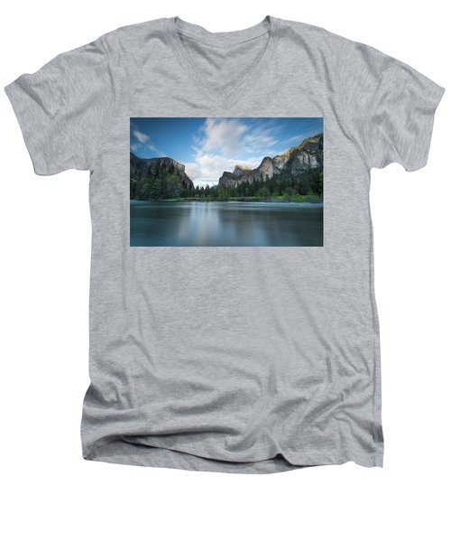 Beautiful Yosemite Men's V-Neck T-Shirt