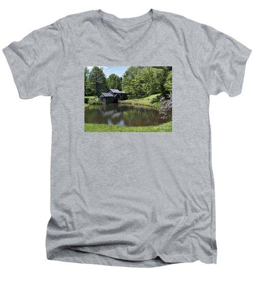 Beauty And Peace Men's V-Neck T-Shirt