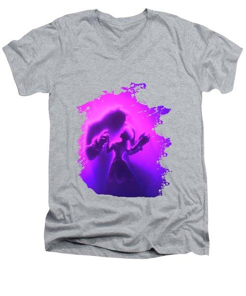 Beauty Beast Men's V-Neck T-Shirt