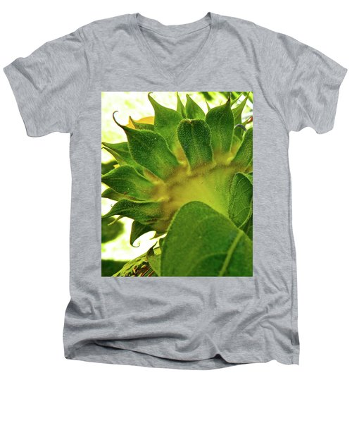 Men's V-Neck T-Shirt featuring the photograph Beauty Beneath by Randy Rosenberger