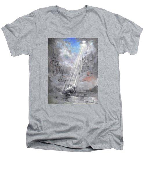 Beauty For Ashes Men's V-Neck T-Shirt