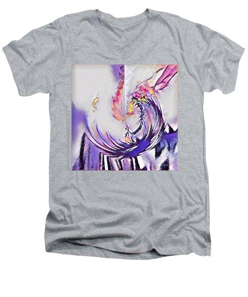 Beauty For Ashes II Men's V-Neck T-Shirt