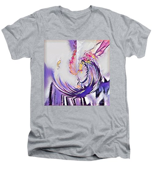 Beauty For Ashes II Men's V-Neck T-Shirt