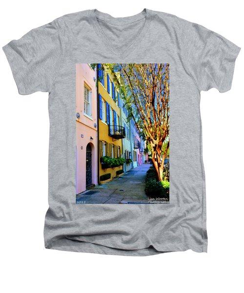 Beauty In Colors Men's V-Neck T-Shirt