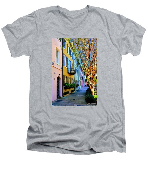 Beauty In Colors Men's V-Neck T-Shirt