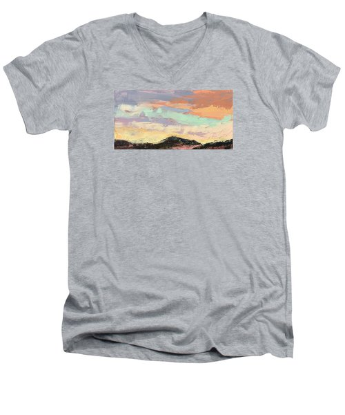 Beauty In The Journey Men's V-Neck T-Shirt by Nathan Rhoads