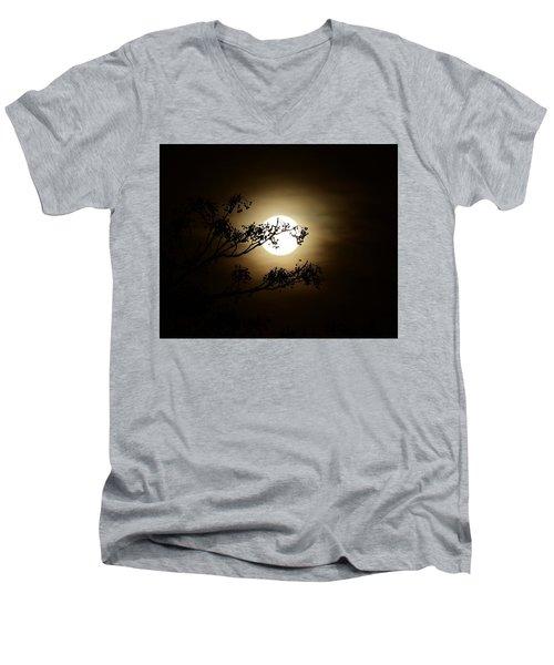 Beauty Is Life Men's V-Neck T-Shirt by Angela J Wright