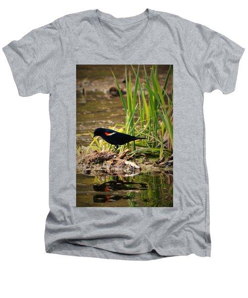 Beauty Of Birds Men's V-Neck T-Shirt